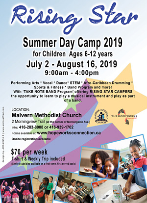 Rising Star Day Camp